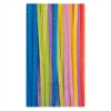 "Jumbo Chenille Neon Pipe Cleaners - 12"" x 0.3""236.2 mil - 100 / Pack - Neon - Polyester"