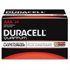 Duracell Quantum Advanced Alkaline AAA Battery - QU2400 - AAA - Alkaline - 24 / Box