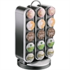 Mind Reader EMS Mind Vortex 30-Cup Coffee Pod Carousel - 30 Compartment(s) - Black - 1Each