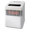 Honeywell Digital Infrared Heater,Quiet Fan - Infrared - 2 x Heat Settings - Portable - White