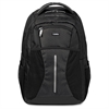"Lorell Carrying Case (Backpack) for 15.6"" Notebook, Bottle, Accessories, iPad - Black - Polyester, Mesh, Elastic - Shoulder Strap, Handle"