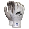 Dyneema Dipped Safety Gloves - Large Size - Polyurethane Palm - Gray - Breathable, Tear Resistant, Cut Resistant, Abrasion Resistant, Comfortable - For Material Handling, Farming, Plumbing, La