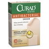 Curad Antibacterial Sheer Bandages - 30/Box - Tan