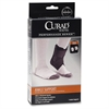 Curad Ankle Support - Adjustable Strap - Strap Mount - Black