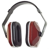 1000 Earmuffs - Noise Protection - Foam, ABS Plastic - Maroon, Black - 1 / Box