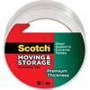 """Premium Thickness Moving & Storage Packaging Tape - 1.18"""" Width x 60 yd Length - 3"""" Core - Acrylic - Acrylic Backing - Durable - 1 / Roll - Clear"""