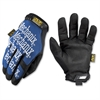 Mechanix Wear All-purpose Gloves - 9 Size Number - Medium Size - Spandex, Thermoplastic Rubber (TPR) Closure, Synthetic Leather - Blue - Comfortable, Reinforced Thumb, Hook & Loop Closure, Machine Was