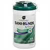 "Sani-Hands Hand Wipes with Tencel Large Canister - 7.50"" x 5.50"" - Tencel - Dye-free, Fragrance-free, Alcohol Based, Eco-friendly - For Hand, Hospital, Office - 300 / Each"