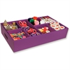 """Activity Tray - 4.3"""" Height x 21.3"""" Width x 12.5"""" Depth - Recycled - Purple - 1Each"""