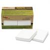 "TreeFrog Notes - 100 x Classic White - 3"" x 3"" - Rectangle - Plain - White - Sugarcane - Self-adhesive, Writable, Eco-friendly, Smooth, Chlorine-free, Dye-free, Solvent-free Adhesive - 12 / P"
