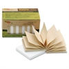 "TreeFrog Pop-up Notes - 104 x Classic White - 3"" x 3"" - Rectangle - Classic White - Sugarcane - Self-adhesive, Writable, Eco-friendly, Smooth - 12 / Pack"