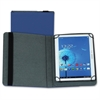 "Samsill Carrying Case (Folio) for 10"" Tablet - Blue - Polyvinyl Chloride (PVC)"