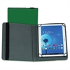 "Samsill Carrying Case (Folio) for 10"" Tablet - Green - Polyvinyl Chloride (PVC)"