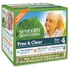 Seventh Generation Baby Free & Clear Stage 4 Diapers