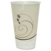 Solo Cozy Touch Hot/Cold Insulated s - 16 fl oz - 750 / Carton - White - Polystyrene - Hot Drink, Cold Drink