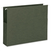 "Hanging File Pockets - Letter - 8 1/2"" x 11"" Sheet Size - Paper Stock - Standard Green - Recycled - 10 / Box"