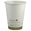 Planet+ Hot Cups - 12 fl oz - 500 / Carton - Pearl - Paperboard - Hot Drink, Water
