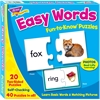 Trend Easy Words Fun-to-Know Puzzles - Skill Learning: Vowels, Vocabulary, Matching, Letter - 40 Pieces