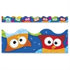 """Trend Owl-Stars Collection Terrific Trimmers - Durable, Reusable - 2.25"""" Width x 468"""" Length - Assorted - 1 Pack"""