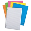 "TOPS Glow One Subject Wirebound Notebooks - 100 Sheets - Printed - Wire Bound - 15 lb Basis Weight - Letter 8.50"" x 11"" - Assorted Cover - 1Each"
