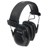 Uvex Safety Inc. Sync Stereo Earmuffs - Noise Protection - Black - 1 Each