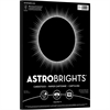 "Astrobrights Laser, Inkjet Print Card Stock - 8.50"" x 11"" - 65 lb Basis Weight - Recycled - 100 / Pack - Eclipse Black"