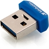 Verbatim 32GB Store 'n' Stay Nano USB 3.0 Flash Drive - Blue - 32 GB - Blue - 1 Pack