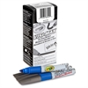 Visi-Max Dry Erase Markers - Bold Point Type - Chisel Point Style - Blue - 1 Dozen