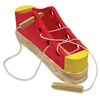 ChenilleKraft Large Shoe - Skill Learning: Comprehension, Eye-hand Coordination, Shape, Fine Motor, Color Identification, Sorting