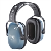 Howard Leight Clarity C1 Sound Management Earmuffs - Noise Protection - Plastic Headband, Acetal Headband, Polypropylene Earcup, Polyvinyl Chloride (PVC), Polyurethane - Light Blue - 1 Each