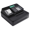 Casio Entry Level PCR-T285-BK Cash Register Black - 2000 PLUs - 8 Clerks - 24 Departments - Thermal Printing