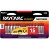 Rayovac Fusion Alkaline AAA Batteries - AAA - Alkaline - 16 / Pack