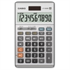 "Casio JF-100MS Solar Plus Display Calculator - Large Display, Independent Memory, Sign Change, Key Rollover, Decimal Point Selector Switch, Dual Power - Battery/Solar Powered - 6.8"" x 4.2"" x 1.1"" - Pl"