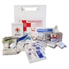 "50-person First Aid Kit - 50 x Individual(s) - 11"" Height x 11"" Width x 1"" Length - Plastic Case - 1 Each"