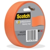 "Scotch Expressions Masking Tape - 0.94"" Width x 60 ft Length - Writable Surface, Easy Tear - 1 Roll - Tangerine"