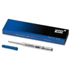 Montblanc Ballpoint Pen Refill - Medium Point - Pacific Blue Ink - 1 Each
