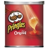 Pringles Grab/Go Original Potato Crisps - Cholesterol-free - Original - Can - 1.30 oz - 36 / Carton