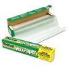 "Bagcraft Wax Paper Dispenser Carton - 11.90"" Width x 75 ft Length - Dispenser, Easy Tear, Microwave Safe, Cutter Bar, Versatile - Wax Paper - Translucent"