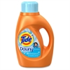 Tide Plus Downy Detergent - Liquid - 0.36 gal (46 fl oz) - Clean Breeze ScentBottle - 1 / Bottle - Orange