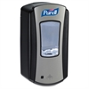 Purell LTX-12 Dispenser - Chrome - Automatic - 40.6 fl oz (1200 mL) - Black, Chrome