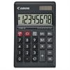"LS-88HI III Green Display Basic Calculator - Large Display, Angled Display, Sign Change, Lightweight, Dual Power, Auto Power Off, Portable Printing/Display - Battery/Solar Powered - 1"" x 5.4"" x"