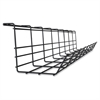 Lorell Mounting Tray for Cable - Black