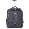 "bugatti Carrying Case (Rolling Backpack) for 15.6"" Notebook, Travel Essential - Black - Ballistic Nylon - Shoulder Strap, Handle - 18"" Height x 15"" Width x 9"" Depth"