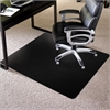 "ES Robbins TrendSetter Carpet Chairmat - Carpet - 48"" Length x 36"" Width - Rectangle - Black"