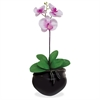 "Glolite Nu-dell NuDell Artificial Orchid Plant - 84"" Tall - Palm - Pot1 Each"