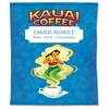 Kauai Dark Roast Coffee - Caffeinated - Hawaiian Blend - Dark - 2.3 oz - 24 Packet - 24 / Carton