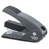 Business Source Effortless Stapler - 20 Sheets Capacity - 210 Staple Capacity - Full Strip - Black, Gray