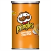 Keebler Pringles Cheddar Cheese Potato Crisps - Cheddar Cheese - 12 / Carton