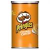 Pringles Cheddar Cheese Potato Crisps - Cheddar Cheese - 12 / Carton