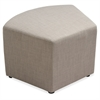 "Lorell Fabric Quad Ottoman - Plywood16.8"" x 16.8"" x 18"""